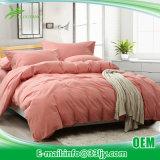 Roupa de cama de algodão e laranja duráveis para apartamento