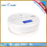 Alarme Detector de Monóxido de Carbono Operado Independentemente por Bateria Inteligente