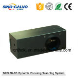 динамическая машина маркировки лазера металла 3D с головкой Sg2208-3D Galvo