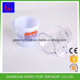 Bureau de lait Café personnalisé tasse en plastique avec poignée