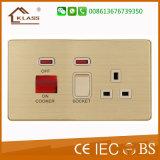 Universal Range Electrical 45A Unidade de cozinhar Switch Socket
