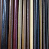 Het vlotte Synthetische Leer van de Oppervlakte voor Schoenen of Zakken (HTS021)