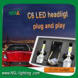 H15 C6 Projecteur LED puce COB s'appliquent à la moto Cras