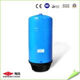 Tanque vertical grande personalizado do purificador da água da cor azul