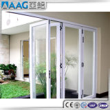 Design em alumínio de alta qualidade PVC porta rebatível