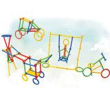 Matériel de protection environnementale des enfants de jouets de construction intelligente