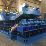 Residuos hidráulicos empacadora de chatarra de acero inoxidable
