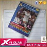 Het Oefenboek van het Notitieboekje van de Student van de School van het Af:drukken van de douane A4 met Zak OPP