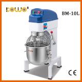 Elevadores comerciais Vertical de Aço Inoxidável 10L planetário do mixer de alimentos para equipamento de padaria