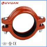 Accessorio per tubi Grooved duttile del ferro ASTM-A536 per il sistema di protezione antincendio