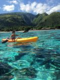 longitud de los 3.1-4m y ningún solo kajak inflable de la canoa del barco de pesca en Tahití