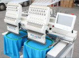 [هوليوما] 2 رئيسيّة تطريز آلة لأنّ سعيدة تطريز عمل مع غطاء لباس داخليّ تطريز