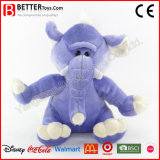 Jouet mou d'éléphant de peluche de peluche de cadeau de promotion pour des gosses/enfants