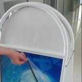 Double stand latéral en aluminium d'un-Bâti de stands d'affiche