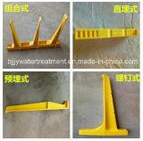 Corchete de la percha del cable del plástico reforzado fibra de vidrio FRP del fabricante