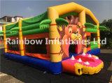 León inflable Castillo Bouncer/animal/Combo de inflables Jumping bouncer para la venta