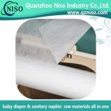 おむつの原料(LS-89)のための極度の柔らかい10-18GSM Nonwoven Coversheet