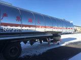 50 000 litros de aceite de cocina inoxidable / aceite comestible de remolque cisterna
