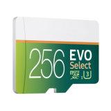 Auserwählte MikroSdxc codierte Karte des Großverkauf-256GB 95mbs Evo für Samsung
