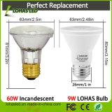 Indicatore luminoso approvato di PARITÀ del riflettore E27 PAR20 PAR30 PAR38 9W 15W 20W LED dell'UL LED