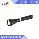 Amplia gama de peso al aire libre estilo de alimentación de la luz LED recargable Flashlighrt