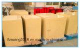 Cassa sicura rivestita del metallo della casella di Enclosurer del metallo giallo della polvere