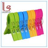 Paquete 8 Toalla de playa Clips en colores brillantes