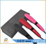 2017 automáticos pente elétrico de venda quente novo do Straightener do cabelo da escova do equipamento do salão de beleza rapidamente