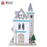 3D Puzzle Doll House DIY Toy de madeira