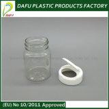 Bottiglia di plastica della medicina dell'animale domestico libero 60ml con il coperchio a vite