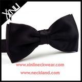 100% de tecidos de seda preta grossista Personalizado Bow tie