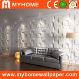 Panel de pared impermeable de la decoración del PVC 3D para el exterior