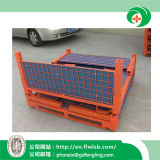 Складные Hot-Selling стальной контейнер для склада с маркировкой CE, Forkfit