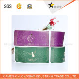 Personalizado personalizado de impresión de etiquetas impresas en papel adhesivo de la impresora de impresión