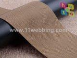 Sangle en nylon de petite onde kaki de 3 pouces pour la courroie de sac à dos