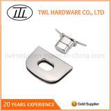 Verschluss für Handtaschen-MetallHarware lederner Beutel-Drehung-Verschluss drehen