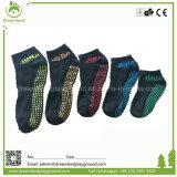 Kundenspezifische Großhandelsberufsinnentrampoline-Park-Antibeleg-Trampoline-Socke