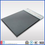 Euro glace r3fléchissante grise couleur grise gris-clair/foncée
