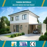 La estructura de acero de la construcción de viviendas con paneles de ALC
