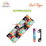 estera antirresbaladiza de la yoga de 3.5m m con diverso diseño impreso en la estera de la yoga de Microfiber