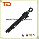 Cilindro del brazo de KOMATSU PC200-8 hidráulico/asamblea del cilindro del petróleo para los recambios del excavador de la correa eslabonada