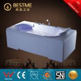 La bañera hidráulica del masaje del torbellino de lujo con el ventilador echa en chorro la opción (BT-A1010)