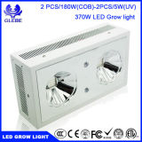 LED Plant Grow Light, Zeus série 370W 2PCS / 180W (COB) LED de espectro completo LEDs crescem para plantas de interior.