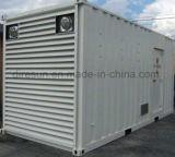 Большой тип двигатель дизеля контейнера с генератором 500kw /625kVA электричества индустрии Perkins молчком
