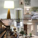 LEIDENE van het Lichaam van de LEIDENE Kleur van het Graan de Lichte E26 20W Koele Witte Zilveren Lamp van de Bol