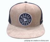 chapéu novo do Snapback do basebol do esporte da era do Snapback do bordado 3D