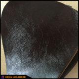 Cuero brillante de la PU del sintético para el sofá de interior que hace Hx-F1747