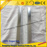 Protuberancia de aluminio del perfil del edificio para el sitio de ducha con la superficie de pulido