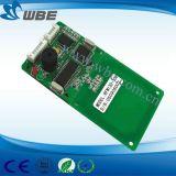 Módulo Integrated do escritor RFID do leitor de cartão da microplaqueta com RS232/Ttl Interfafce