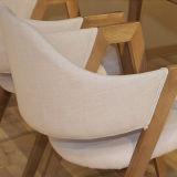 Chaise de salle à manger en bois du sud-est asiatique pour mobilier domestique D23